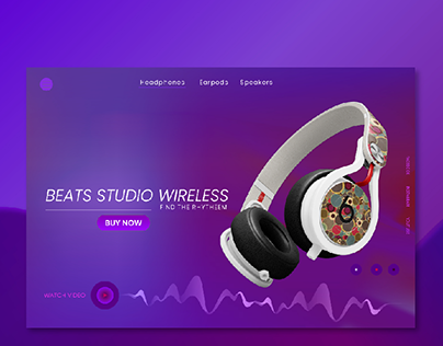 Beats Website UI