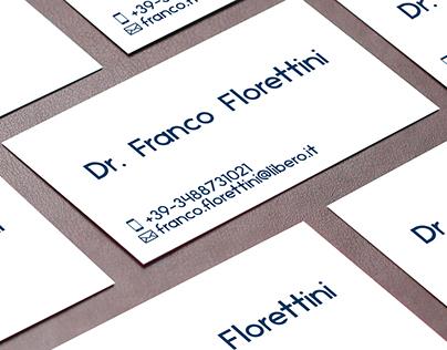 Business Card Dr. Franco Florettini