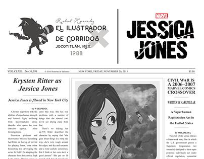 Jessica Jones — Fan Art