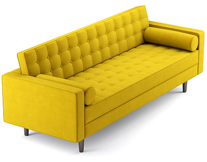 Aeon Furniture Lacey Sofa 3D model