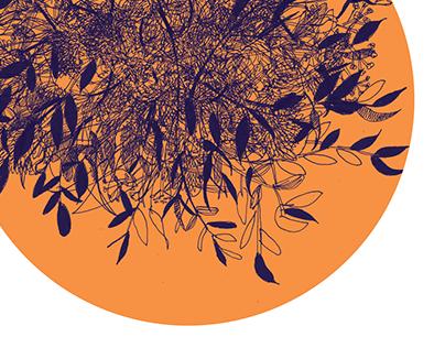 Organic patterns | digital illustration