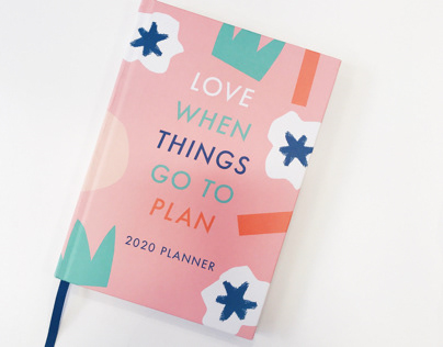 Love When Things Go To Plan 2020 planner
