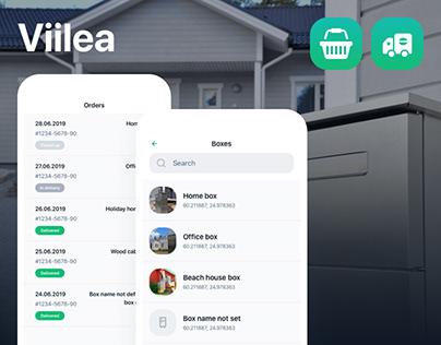Viilea mobile app and web app