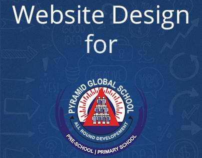 Website Design for Pre-school - Pyramid Global School