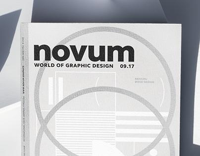 novum 09.17 »book design«