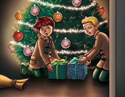 The Nantucket Elves, Mascot Books