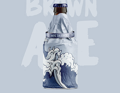 Beer Label and Wrapping Design