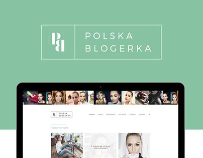2016: Polska Blogerka - branding & blog layout