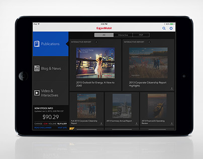 ExxonMobil Corporate App for iOS and Android
