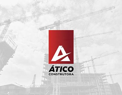 Ático Construtora - ID Visual