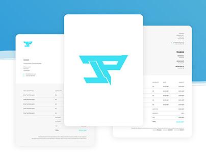 JPStudios Quote & Invoice Template Re-design