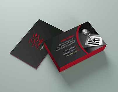De Blaye Exotic's | Business Card