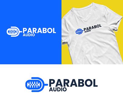 PARABOL AUDIO | MUSIC STUDIO LOGO DESIGN