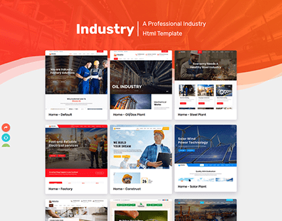 Industry - Factory & Industrial HTML Template