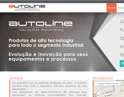 Autoline automação website | tau.farah