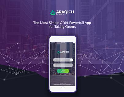Araqich App Design