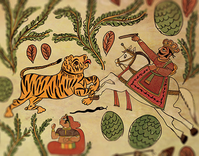 Phad- Traditional Indian Comics