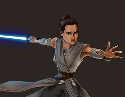 The Force Awakens: Rey