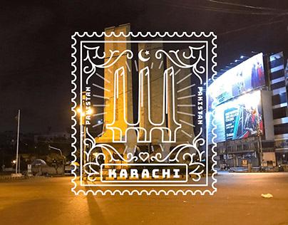 Stamp Series : Karachi