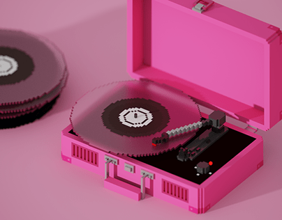 Voxel Turntable