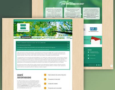 Sección Sustentabilidad - SMS