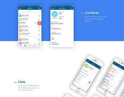 TextMagic iOS App