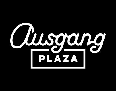 Ausgang Plaza Rebrand
