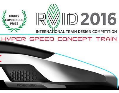 High Speed Train Concept 2030