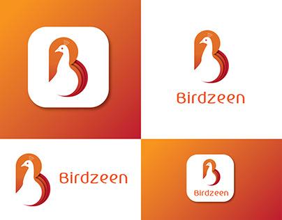 B Latter Bird Logo