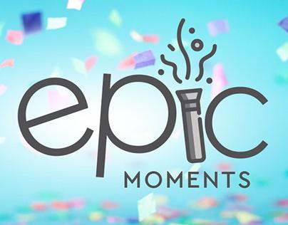 Epic Moments: Brand Identity (Version 2)