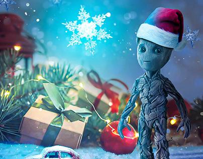 Groot Christmas