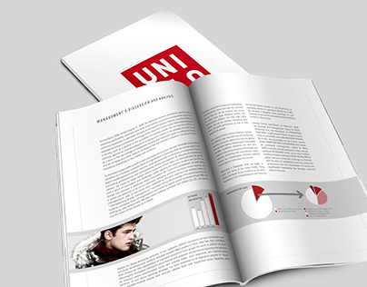 UNIQLO Annual Report Design