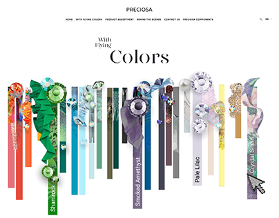 With Flying Colors - PRECIOSA Components Mirosite