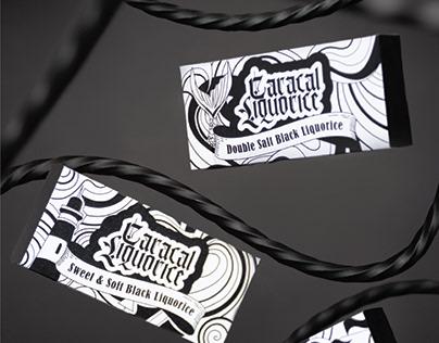 Caracal Liquorice | Packaging design