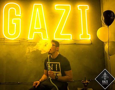 GAZI Tobacco & Hookah: Logo   Website   Pack design