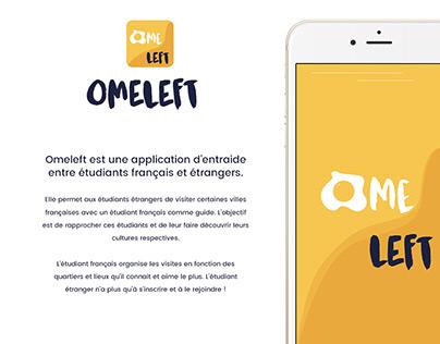 Omeleft - Application mobile