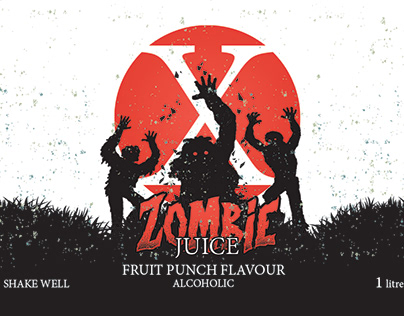 Zombie Juice Packaging