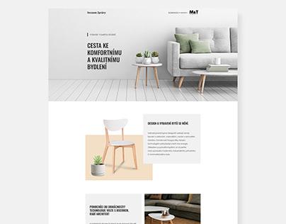 Website design for Seznam Native - MT kliky