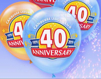 Canberra Labor Club - 40th Anniversary