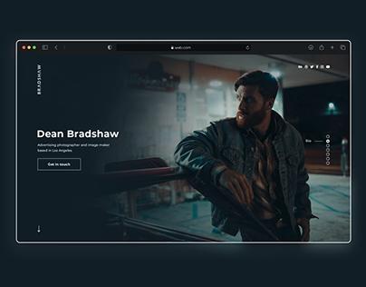 DeanBradshaw Landing page
