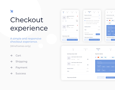 Simple checkout experience