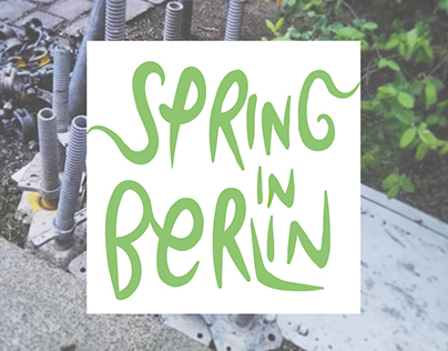 Conceptual Photography Project |SPRING IN BERLIN