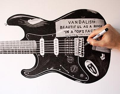 Kurt Cobain's Fender Stratocaster