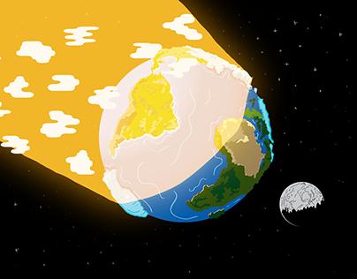 Platão Energia - Animação sobre energia solar. 3D aided