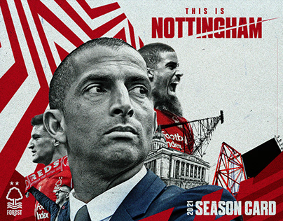 'This is Nottingham' 2020-21 NFFC Season Card
