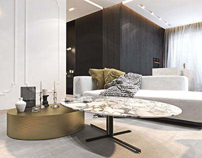 Luxurious apartment in Warsaw
