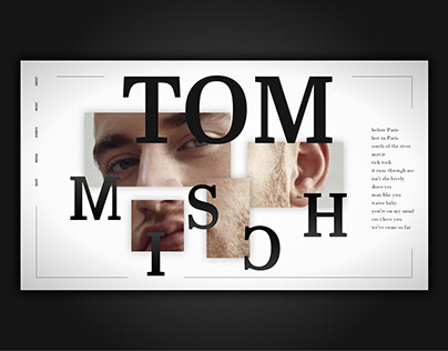 Tom Misch Website Homepage Concept