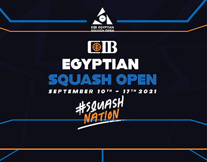 CIB Egyptian Squash Open 2021 (Unpublished)