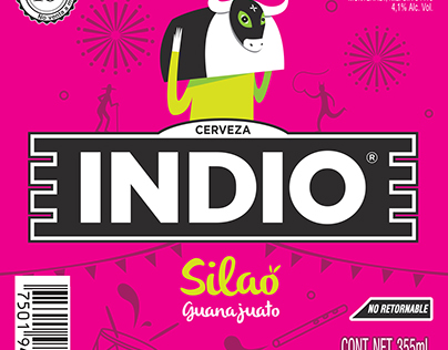 "Propuesta de etiqueta ""Indio Barrios"""