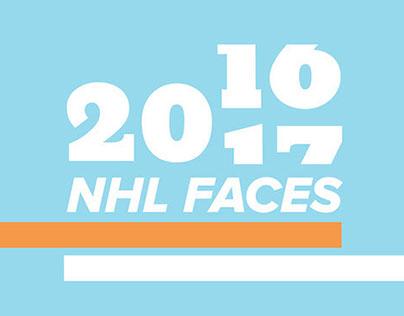 2016-17 NHL Faces